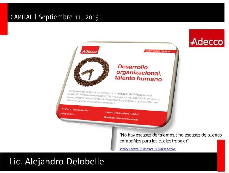 Alejandro Delobelle Liderazgo y Talento Adecco
